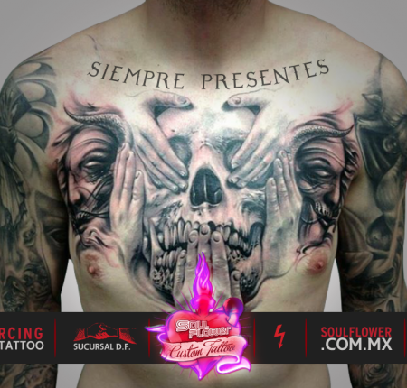 Soulflower tattoo & piercing supply, promocional